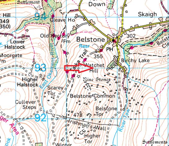 watchet-hill-map