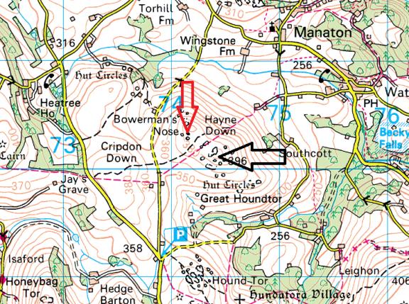 hayne-down-map