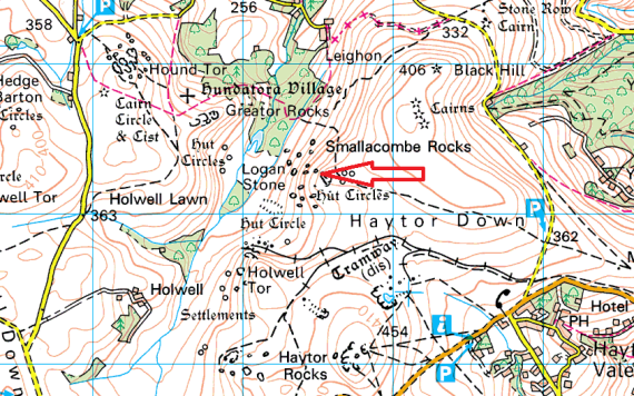 smallacombe-rocks-map