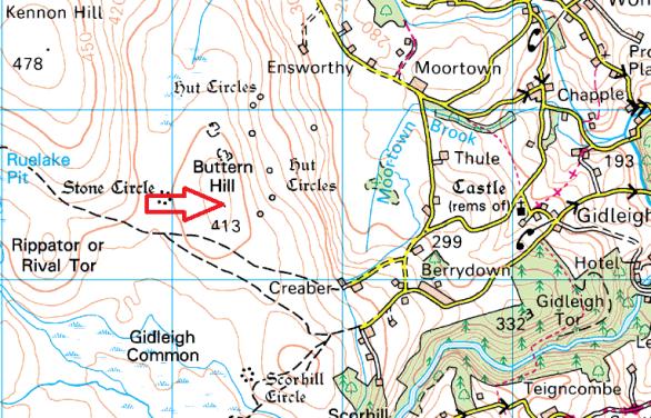 buttern-hill-map