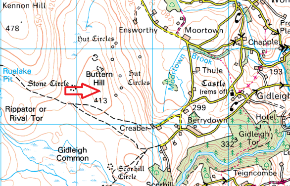 buttern-hill-map