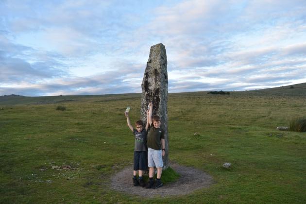 Merrivale Stone Circle 1