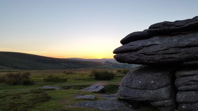 Combestone Tor sunset 8