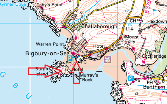 bigbury-map