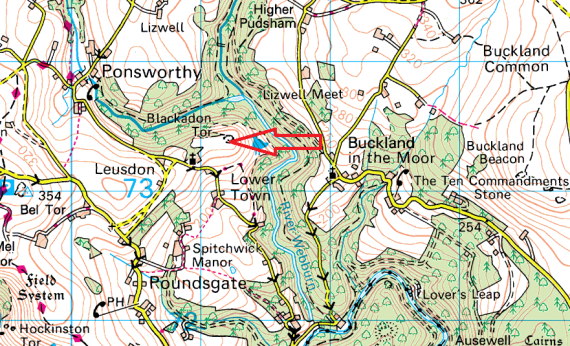 blackadon-tor-map