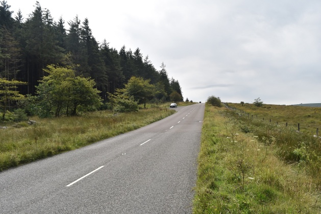 The layby on the B3212