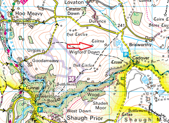wigford-down-map