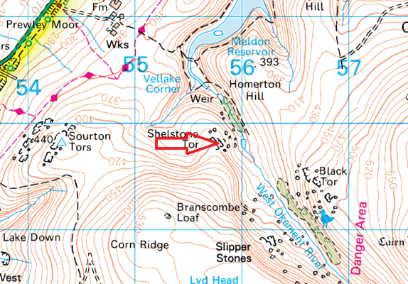 shelstone-tor-map