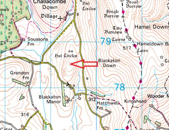 blacka-tor-map