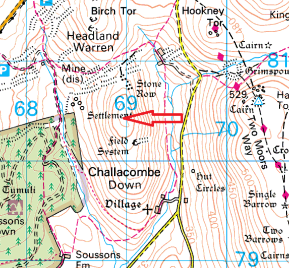 challacombe-down-map