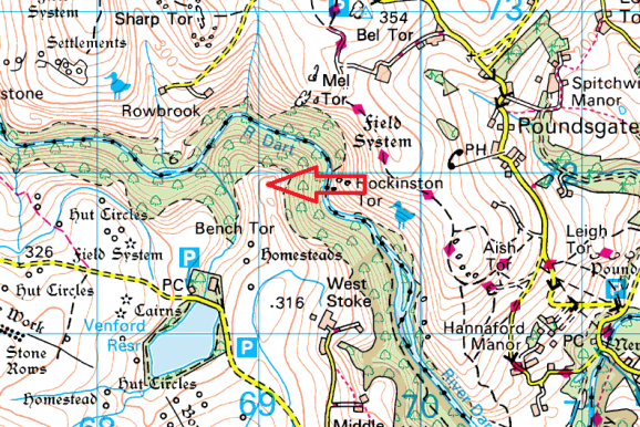 north-tor-map