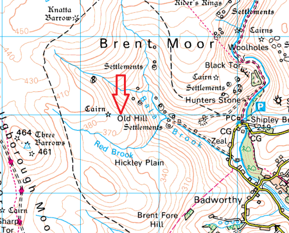 old-hill-tor-map