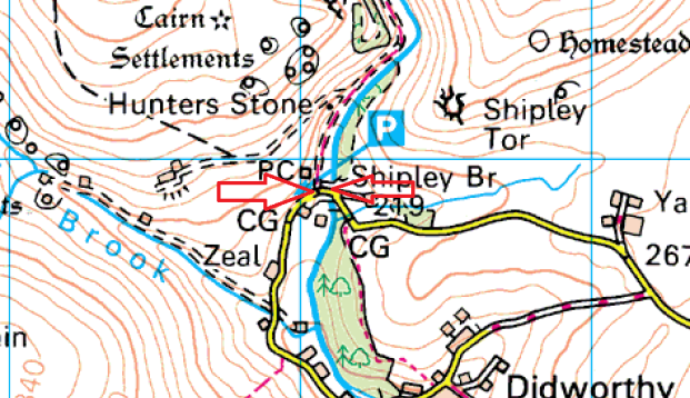 shipley-bridge-parking-map