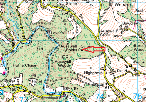 ausewell-rocks-map