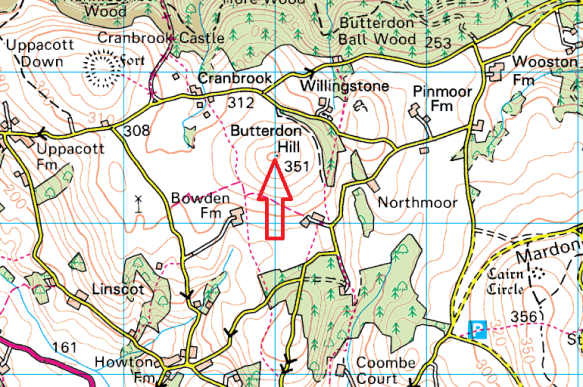 butterdon-hill-drew-map