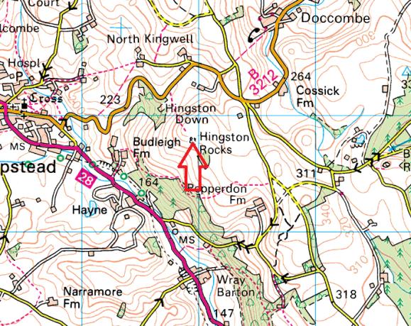 hingston-rocks-map
