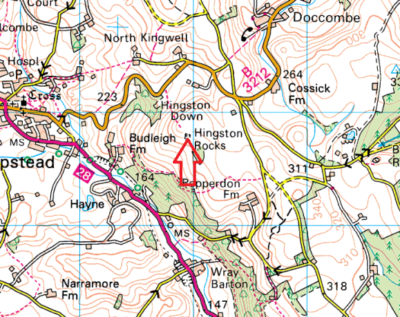 hingston-rocks-map