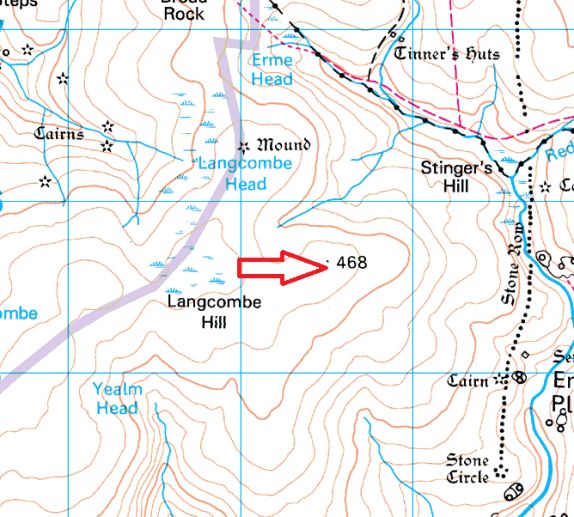 langcombe-hill-map