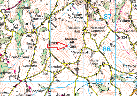 meldon-hill-map