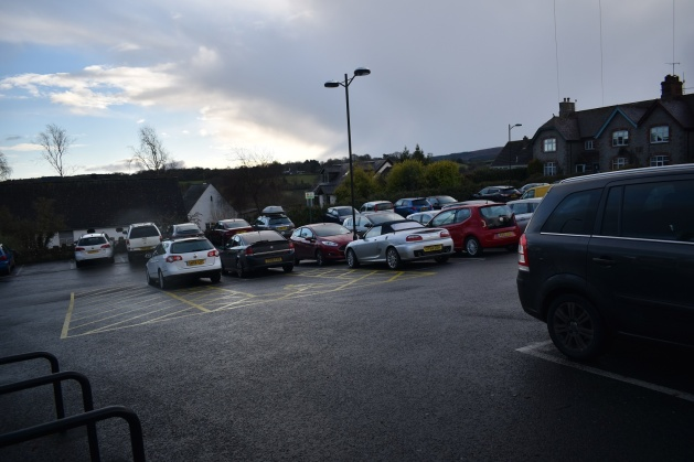 Moretonhampstead parking 9